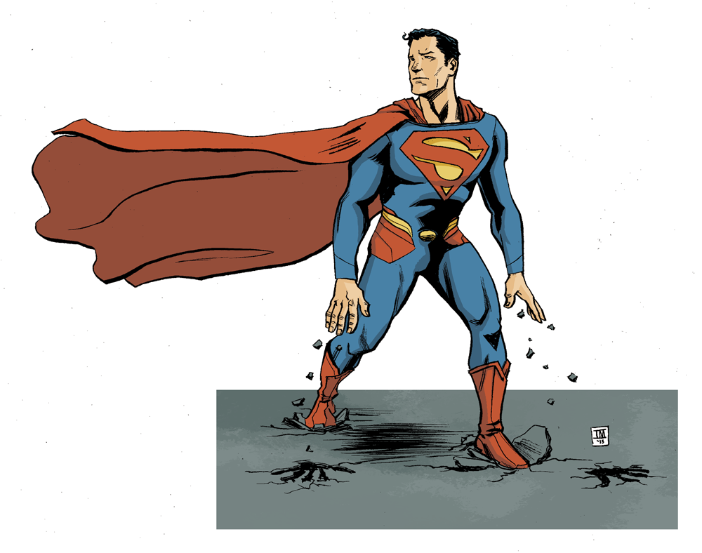 Superman week, day one – The Man of Steel